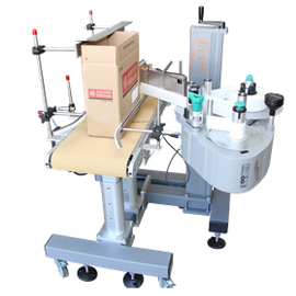 automatic case and box labeler machine, automatic box labeling machinery