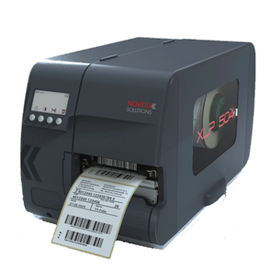black xlp 504 label printer machine with label