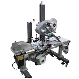 top and bottom labeling machine with labels